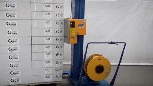 Umreifungsmaschine halbautomatisch | Reisopack