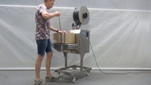 Vertikale Umreifungsmaschine | Reisopack